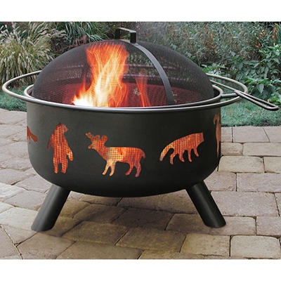 Big Sky Wildlife Firepit - Choose Your Color