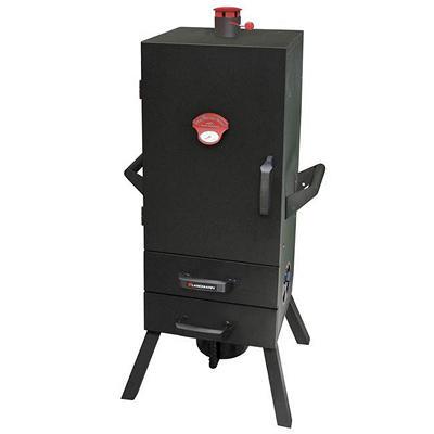 "34"" Smoky Mountain Vertical 2-Drawer Charcoal Smoker"