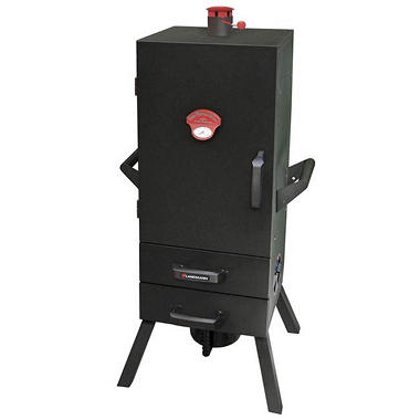 "34"" Smoky Mountain Vertical 2-Drawer Charcoal Smoker"