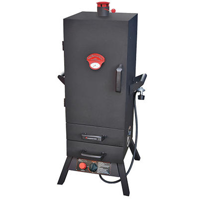"38"" Two Drawer Heat Saving Vertical Gas Smoker"