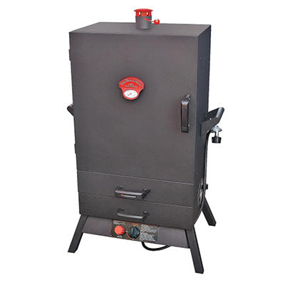 "38"" Two-Drawer Heat-Saving Vertical Gas Smoker"
