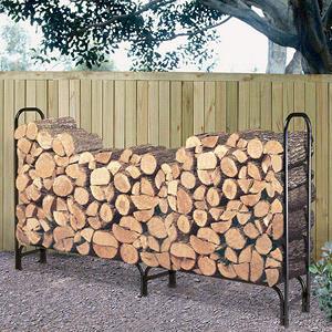 Landmann Log Rack with Cover - 8'