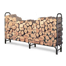 8' Contemporary Arch Firewood Rack