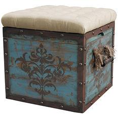Keene Storage Ottoman