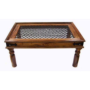 Rustic Indian Rosewood Coffee Table Sam 39 S Club