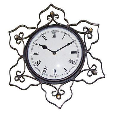 Handcrafted Minaret Scroll Wall Clock