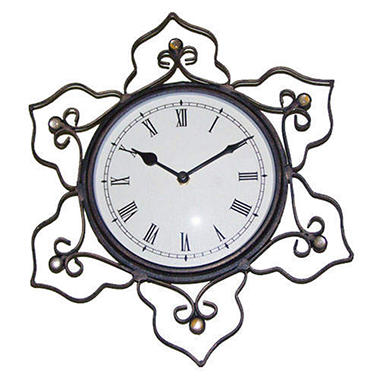 Handcrafted Minaret Scroll Wall Clock