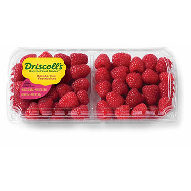 Organic Raspberries - 12 oz.