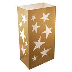 Luminaria and Gift Bags - Stars - 100 ct.