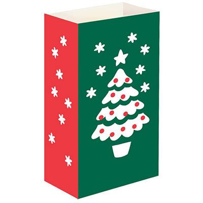 Luminaria and Gift Bags - Christmas Tree - 100 ct.
