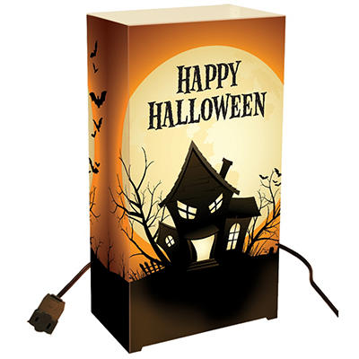 10-Count Electric Luminaria Kit - Haunted House