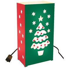 10-Count Electric Luminaria Kit - Christmas Tree