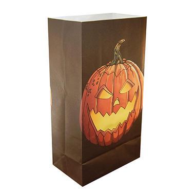 Luminaria Bags -  Jack O' Lantern - 24 ct.