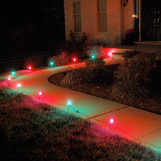 Electric Pathway Red and Green  Lights - 10 ct.