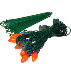 Electric Pathway Orange Lights - 10 ct.