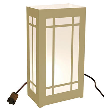 Electric Luminaria Lantern Kit - Gold - 10 ct.
