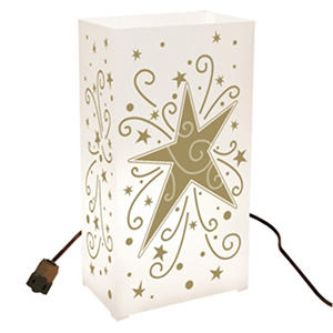 Gold Star Electric Luminaria Kit (10 ct.)