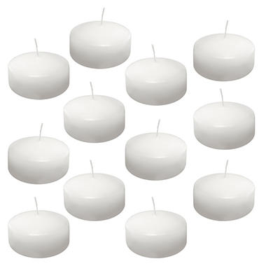 12 ct. Floating Candles - Extra Large