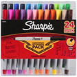 Sharpie Ultra Fine Assorted - 24 Pack