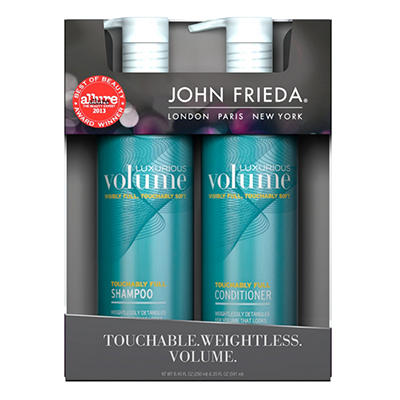 John Frieda Luxurious Volume Shampoo & Conditioner