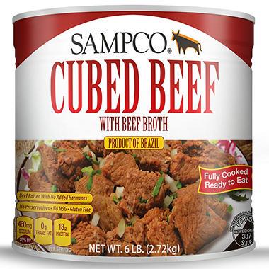 Sampco Beef in Broth (6 lbs.)