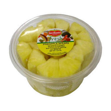 Del Monte Gold Pineapple Spears - 2.5 lbs.