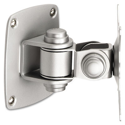 Balt - Low Profile Wall Mount for Flat Panel Monitor - Silver