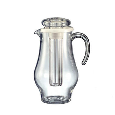 Acrylic 2.4 liters Pitcher w/Ice Tube