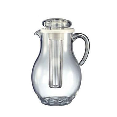 Acrylic 3.3 liters Pitcher w/Ice Tube