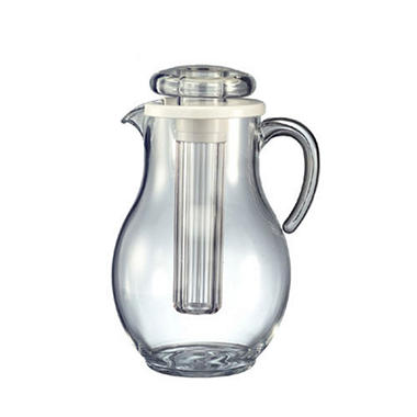 Acrylic 3.3 liters Pitcher w/Ice Tube