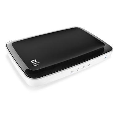 WD My Net™ N750 HD Dual-Band Router accelerates multi-HD streams w/ Fastrack™