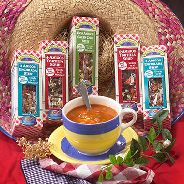 Gluten Free 5 Mexican Soup Sampler