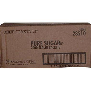 Dixie Crystals® Sugar Packets - 2000 ct.