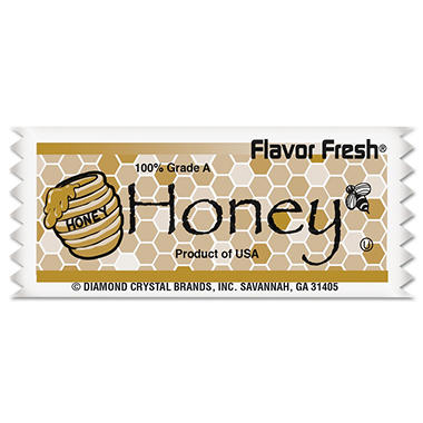 Diamond Crystal Flavor Fresh Honey Pouches (.317 oz. packet, 200 pk.)