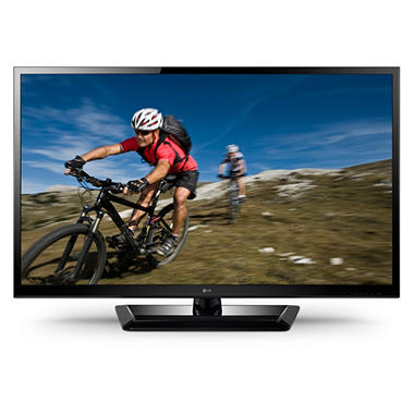 "47"" LG LED 1080p 120Hz 3D HDTV w/ Soundbar"