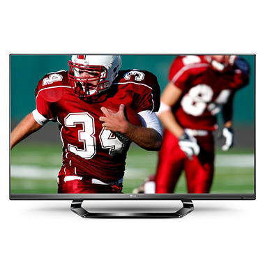 "47"" LG 3D LED Smart 1080p 120Hz HDTV w/ Wi-Fi"