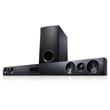 lg 2 1 sound bar with subwoofer sam 39 s club. Black Bedroom Furniture Sets. Home Design Ideas