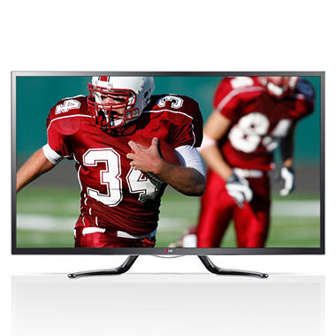"55"" LG LED 1080p 120Hz Smart Google 3D HDTV w/ Wi-Fi"
