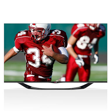 "50"" LG LED 1080p 120Hz Smart 3D HDTV w/ Wi-Fi"