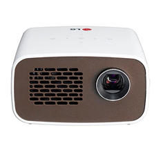 LG LED Minibeam Projector with Embedded Battery