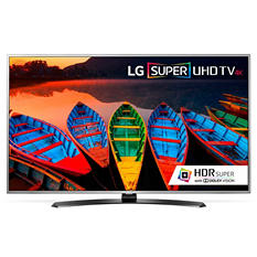"LG 60"" 4K Super UHD Smart LED TV w/WebOS 3.0 - 60UH7650"