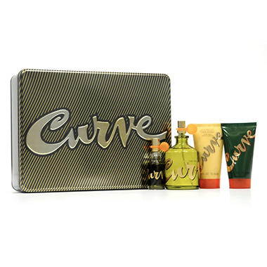 Curve Fragrance Men's Gift Set - 4 pc.