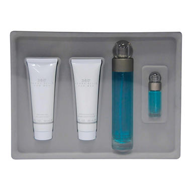 Perry Ellis 360 Men's Fragrance Gift Set - 4 pc.