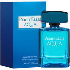 Perry Ellis Aqua Eau de Toilette Spray (3.4 fl. oz.)
