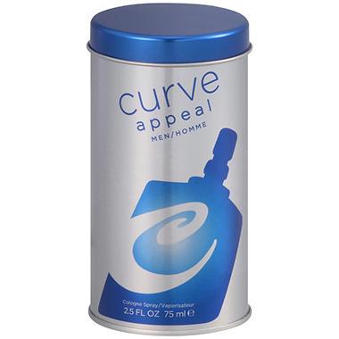 Curve Appeal for Men Cologne Spray - 2.5 fl. oz.