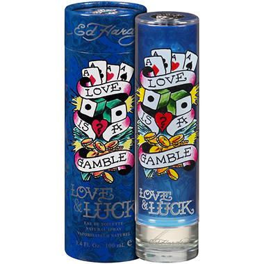 Ed Hardy Love & Luck Eau de Toilette Spray - 3.4 fl. oz.