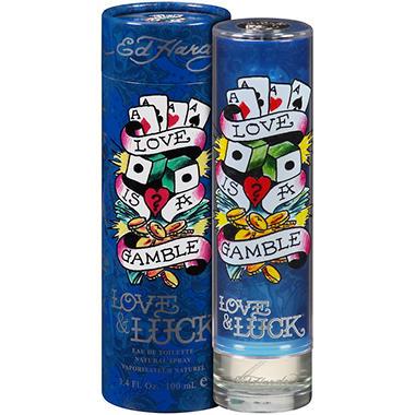 Ed Hardy Love & Luck Eau de Toilette Spray - 3.4 fl. oz.