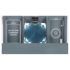 Chrome Men's Cologne with Charging Station Gift Set