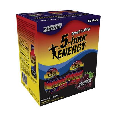 5-Hour Energy - Grape, 1.93 oz. (24 pk.)