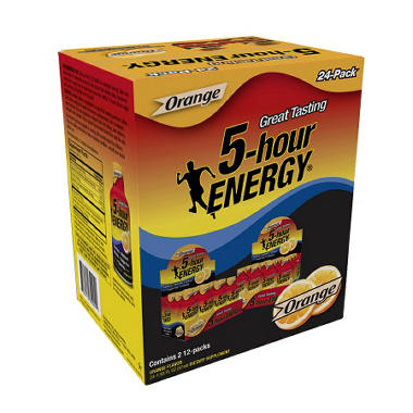 5-Hour Energy - Orange - 1.93 oz. - 24 pk.
